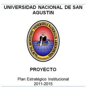 Plan Estratégico UNSA
